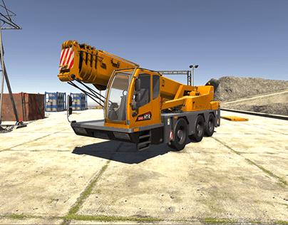 #Unity Crane Simulator v3