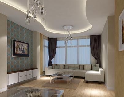 Contemporary villa interiors, Dubai