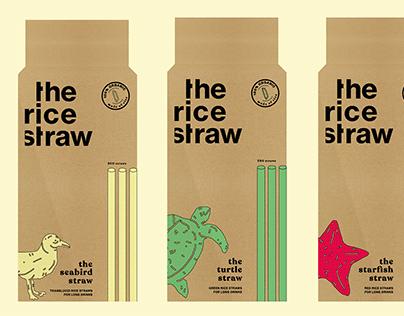 THE RICE STRAW - BRANDING