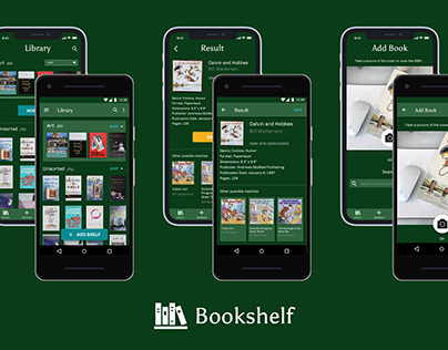 Bookshelf app (iOS, Android)