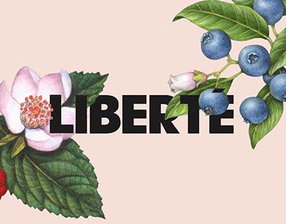 Liberté Organic / Packaging