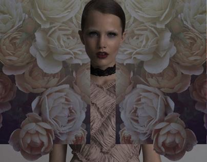 Art direction on fashion editorial.
