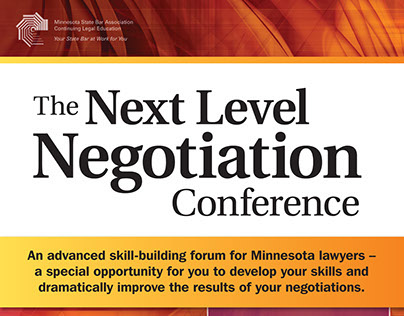 The Next Level Negotiation Conference