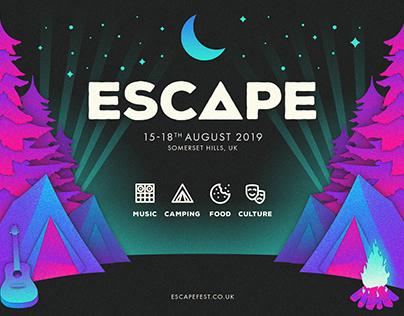 Escape Festival Branding