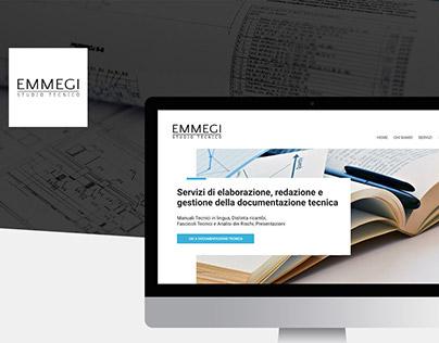 """Web site for """"EMMEGI"""""""