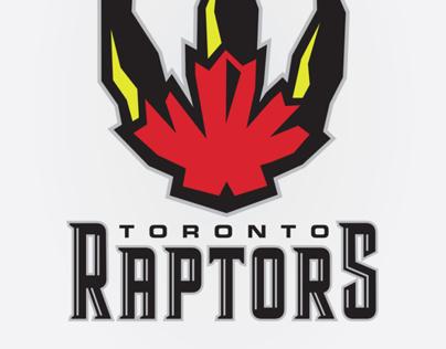 Toronto Raptors Branding