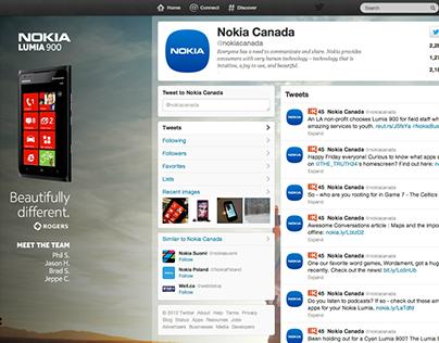 Nokia Lumia 900 Online Campaign