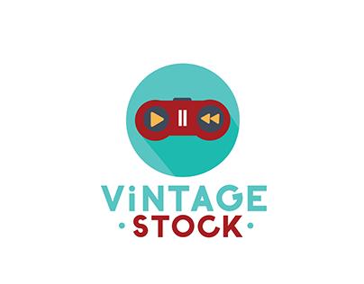 Vintage Stock - 3 New Logo Identities