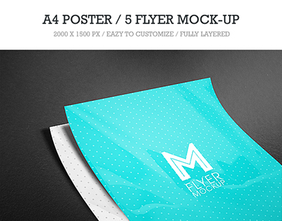 5 Flyer Mock-Up