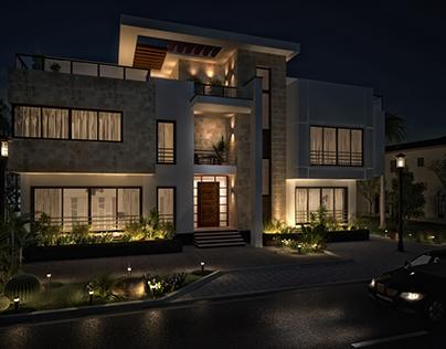 Villa Exterior - KSA