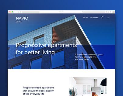 Real estate website Navio