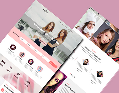 MODEL_TEAM-TOP MODELLING AGENCY WEBSITE TEMPLATE DESIGN
