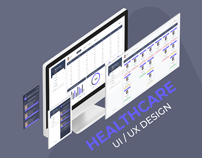 Healthcare UI / UX Design