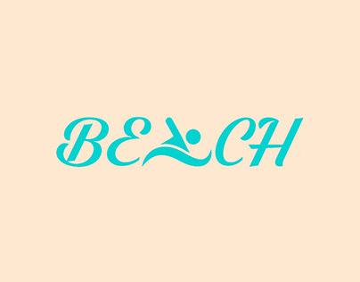 Beach logotype