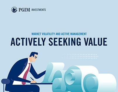 PGIM - Actively Seeking Value Infographics