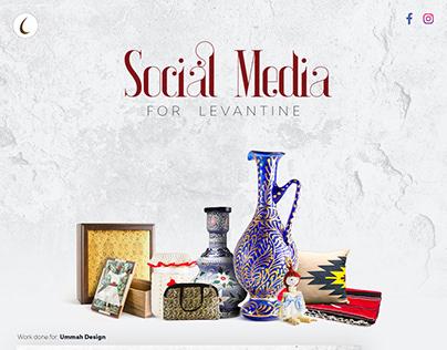 Social Media Post design for Levantine Crafts