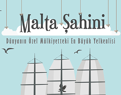 Maltese Falcon Infographic - Malta Şahini İnfografi