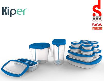 KIPER Containers & Pitcher Set (Project Management)