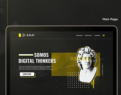 B.Play Website Design