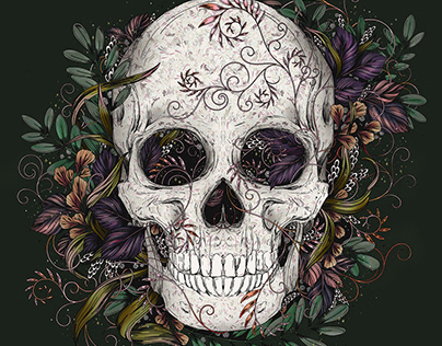 Skull - Digital Illustration
