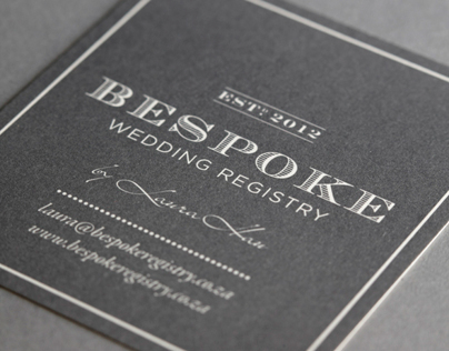 BESPOKE WEDDING REGISTRY