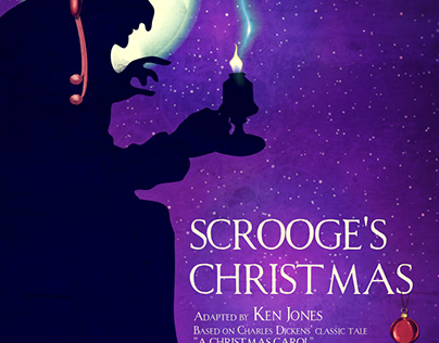 Musical Poster Scrooge's Christmas