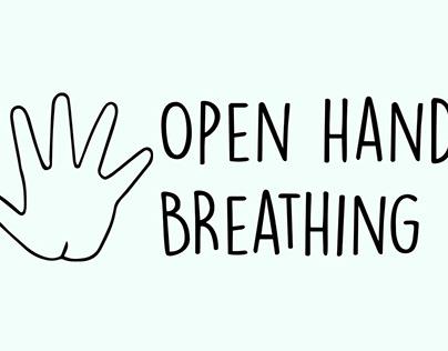 Open hand breathing