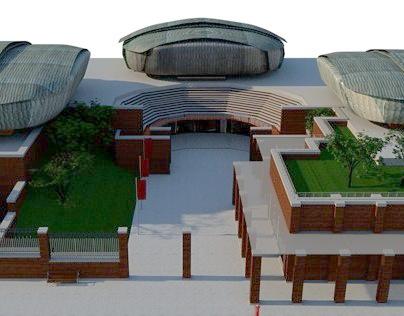 3D Model Auditorium Roma