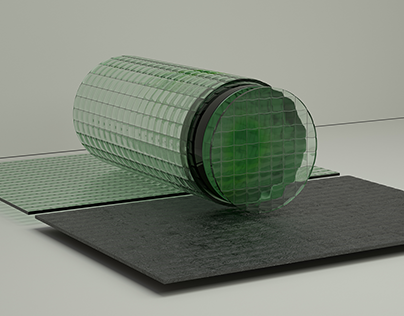 Wired Glass.