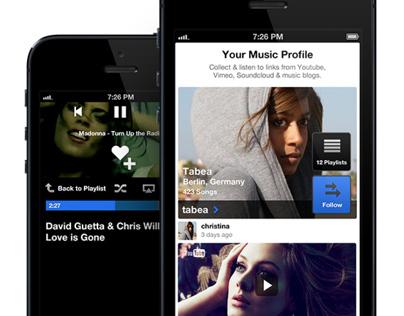 musicplayr iPhone App
