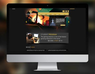 Lightmare Studios - Website Design