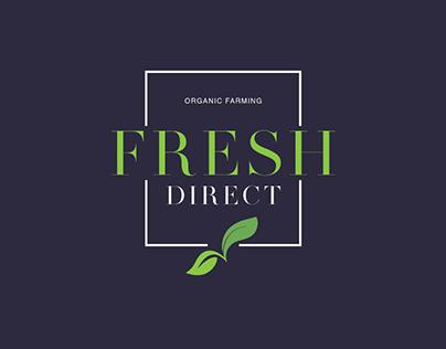 Fresh Direct   Logo Design