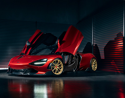 McLaren 720s for Vorsteiner wheels
