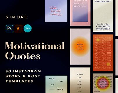 Motivatioanl Quotes Aesthetics Instagram