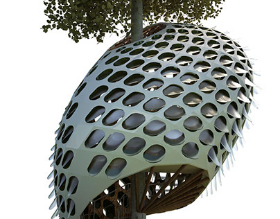Flocking House - Tree House Competition, ArchTriumph