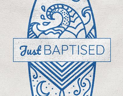 Just baptised