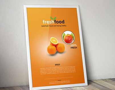 Fresh Food Flyer Template