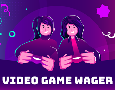 Video Game Wager App Design