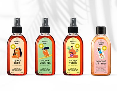 Moana Poeoil series branding