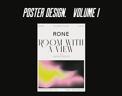 Poster Design. Volume I