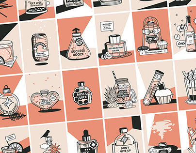 Tasty Vibes – A Postcard Series