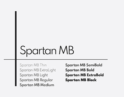 Spartan MB Free Font