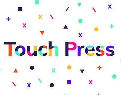 Touch Press — Brand Identity