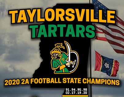 2020 Taylorsville Tartars Football: State Champions