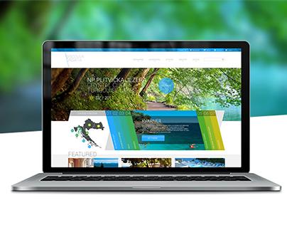 Discover Croatia - Theme & Branding design