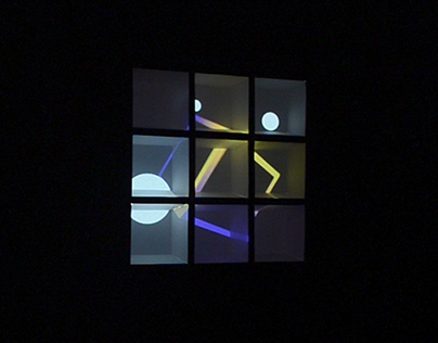 Cubique ⏤ interactive installation