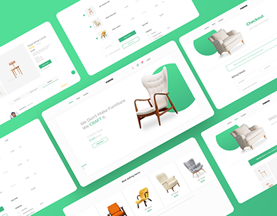 Furniture E-Commerce Website Design