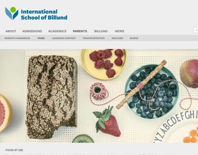 International School of Billund Website