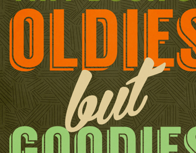 Oldies But Goodies Typography