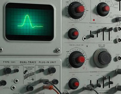 Tektronix 549 Vintage Oscilloscope